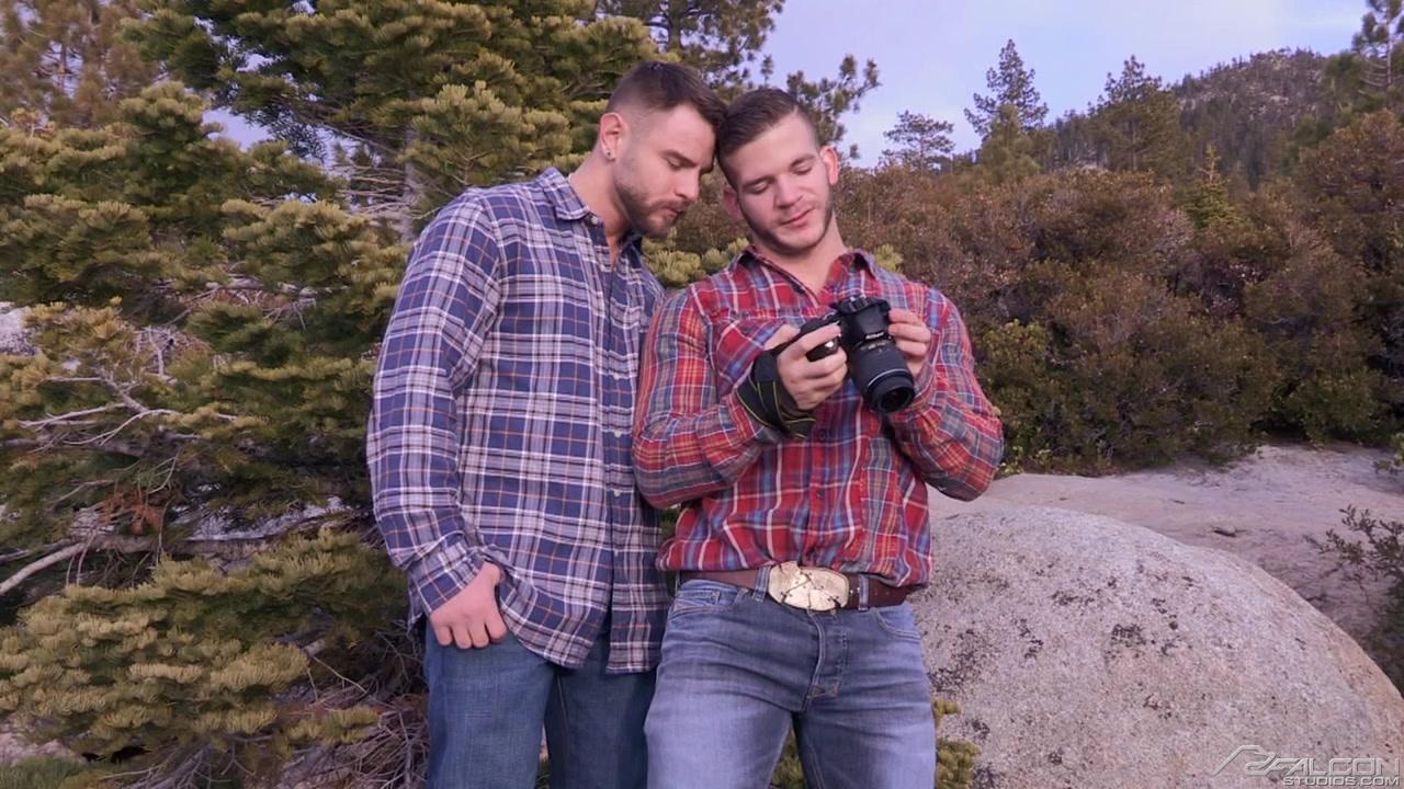 Angel Rock Face Porn alpine wood #1 (angel rock, nick sterling) - gay porno hd online